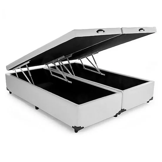 Box Baú Bipartido Votobox Corino Branco